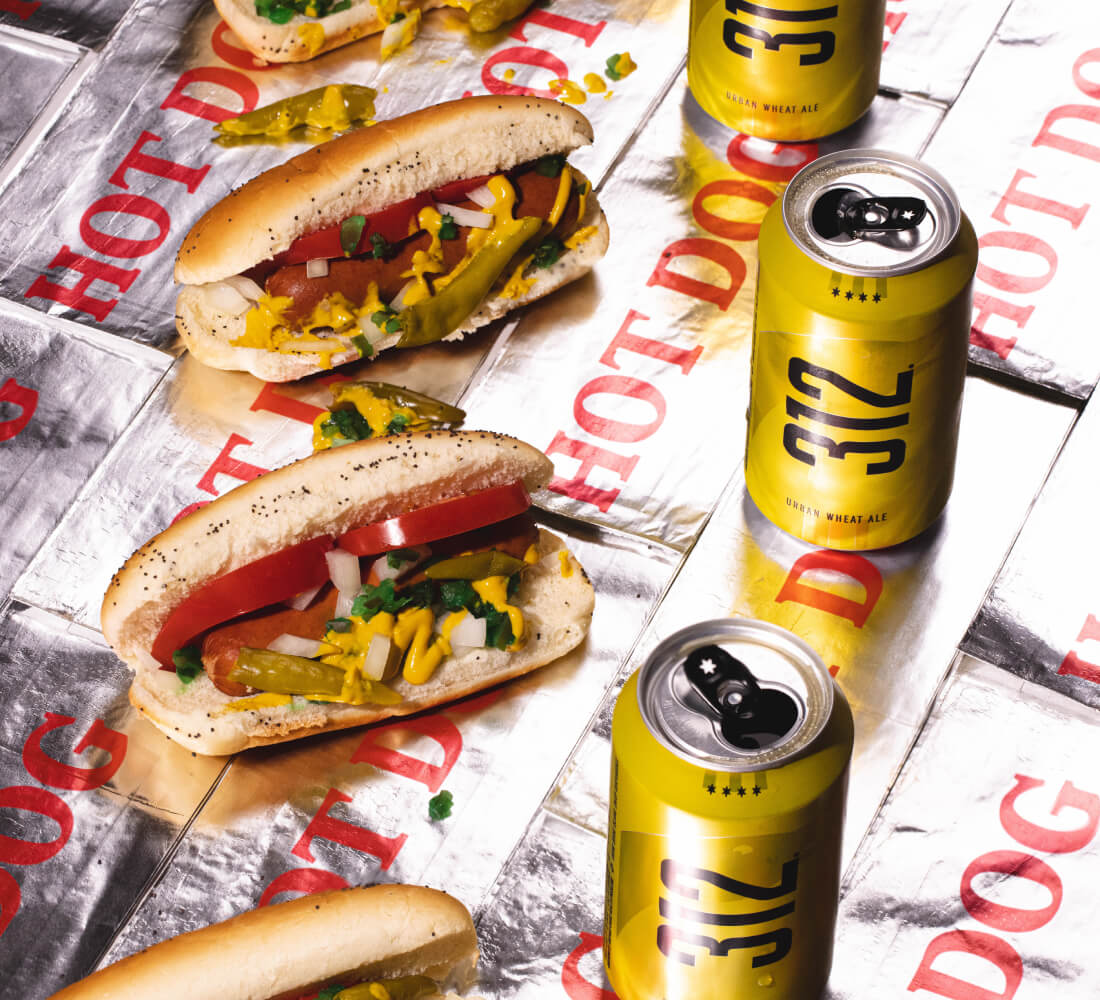 Goose Island Brewhouse - Hot Dogs and 312 Goose Island