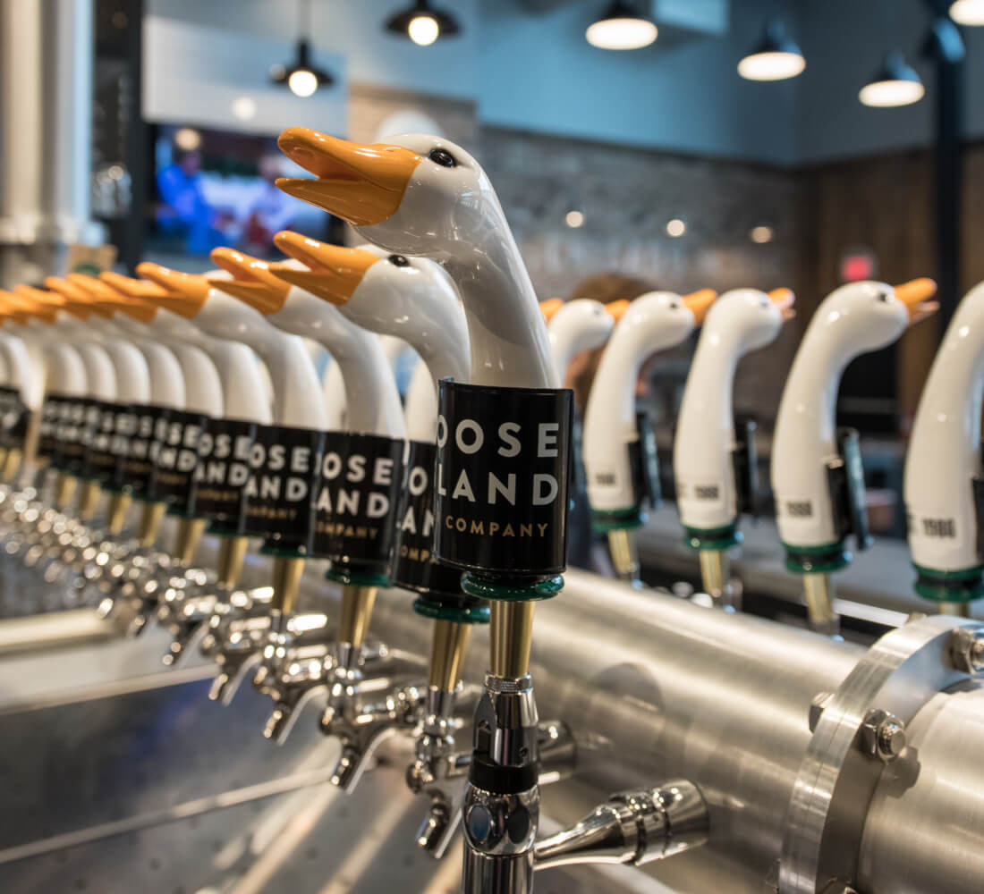 Goose Island Brewhouse - Brew Taps